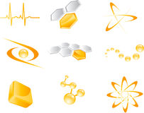 Set of  icon elements Royalty Free Stock Image