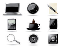 Set of icon vector. On a isolated background Stock Photos