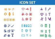 Set icon Royalty Free Stock Image