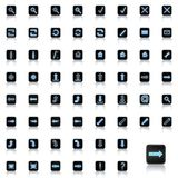 Set of icons Royalty Free Stock Photography