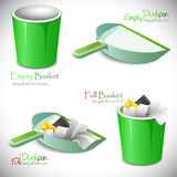 Set of icons. royalty free stock photography