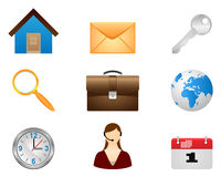 Set  icons. Royalty Free Stock Images