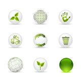 Set of icons Royalty Free Stock Photo