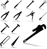 Set Icons - 23. Tools Stock Images