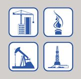 Set of icons. Stock Photo