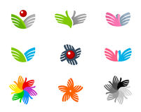 Set of icons. On a white background Stock Photography