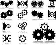 Set icons - 31. Gears Royalty Free Stock Image