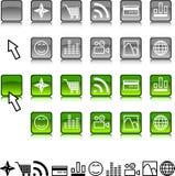 Set of icons. Stock Photos