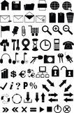 Set of icons. For the website Stock Photo