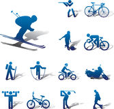 Set icons - 82A. Sport Stock Photos