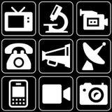 Set of icons (appliances, electronics) Stock Image