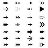 Set icons Arrows Stock Photo