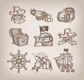 Set of icons. Stock Images