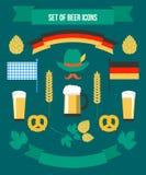 Set of Icons Royalty Free Stock Image