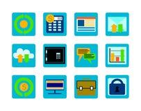 Set_icons Stock Image