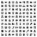 Set of icons. business Stock Photos