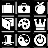 Set of icons (business, others) Stock Images