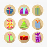 Set of icons - Christmas Royalty Free Stock Photography