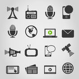 Icon communication5 Royalty Free Stock Photos
