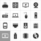 Computer an icon2 Stock Photos