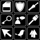 Set  icons - Computer, Web, Internet, Technology Royalty Free Stock Image