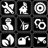 Set of icons (construction) Royalty Free Stock Image