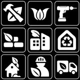 Set of icons (construction) Royalty Free Stock Photos