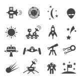 Set of icons Royalty Free Stock Photo