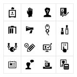 Set icons of elections Stock Image