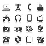 Electronics an icon2 Royalty Free Stock Images