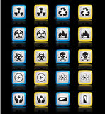 Set of Icons Energy Stock Photos