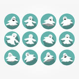 Set of icons - Halloween Stock Photos