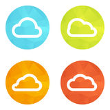 Set icons Royalty Free Stock Photography