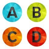Set icons Stock Image