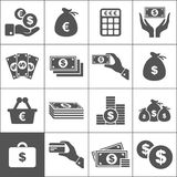 Money an icon Royalty Free Stock Photography