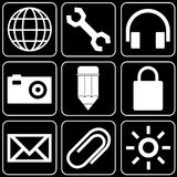 Set of icons (office) Royalty Free Stock Photography
