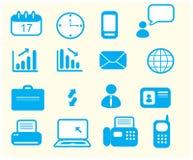 Set of icons in office. Set of 12 icons in office Stock Photography