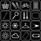 Set of icons (other) royalty free stock photos