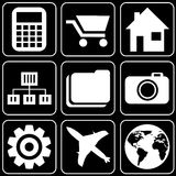 Set of icons (others) Stock Photography