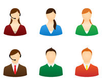 Set icons people. Stock Photography