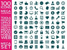 Set Of Icons, Quality Icon Collection Vector Design. Eps 10 Royalty Free Stock Image