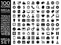 Set Of Icons, Quality Icon Collection Vector Design Stock Photos