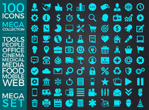 Set Of Icons, Quality Icon Collection Vector Design Stock Image