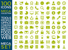Set Of Icons, Quality Icon Collection Vector Design Stock Photo