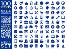 Set Of Icons, Quality Icon Collection Vector Design. Eps 10 Stock Image