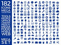 Set Of Icons, Quality Icon Collection Vector Design. Eps 10 Stock Photos
