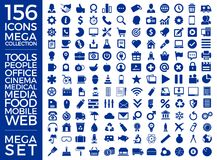 Set Of Icons, Quality Icon Collection Vector Design. Eps 10 Royalty Free Stock Photography