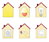 House icons 2 Stock Photography