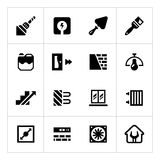Set icons of repair and building Royalty Free Stock Images