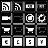Set of icons (sale, money) Royalty Free Stock Photos